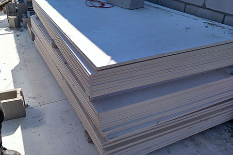 Class A fire-rated and load-bearing equal to cement board and poured concrete.